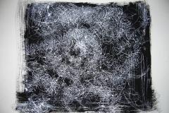 Linien | Federzeichnung 48x64cm 2003/1985