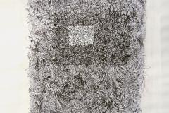 Linien | Federzeichnung 48x64cm 2007/1984
