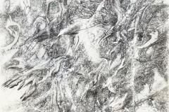 Linien | Palimpsest,  48x64cm 2019/1999