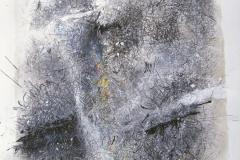 Linien   Palimpsest 1, 48x64cm 2002/1984
