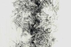 Linien   Figur1, 45x60cm 2002/1999