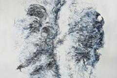 Linien   Palimpsest, 45x60cm 2002/1999