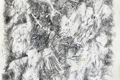 Linien   Palimpsest,  48x64cm 2019/1989